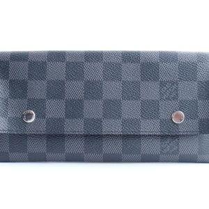 Damier Graphite Long Modulable Flap Wallet